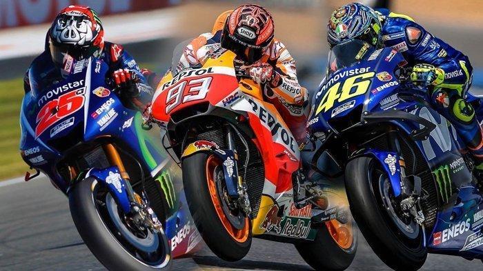 MOTOGP 2019: Hasil Kualifikasi MotoGP, Duel Seru: Marc Marquez Posisi 1, Valentino Rossi Posisi 2