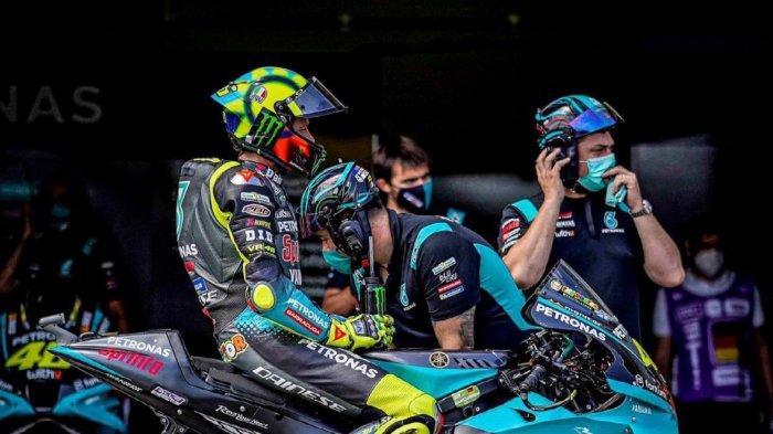LIVE Trans7! MotoGP Aragon 2021 Hari Ini, Valentino Rossi Tak Menyerah Meski Start di Belakang