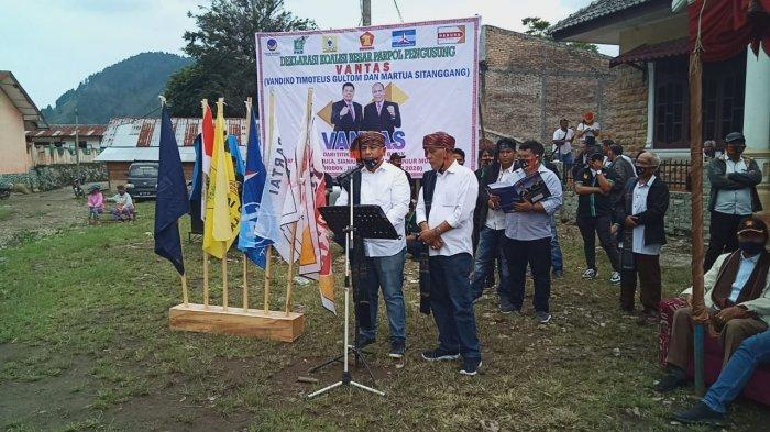Vandiko-Martua Unggul di Pilkada Samosir, Berikut Hasil Penghitungan Suara Sementara Versi Apdesi