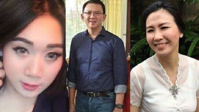 Veronica Tan dan Puput Nastiti Devi tidak hadir saat kebebasan Ahok. (kolase TribunStyle)