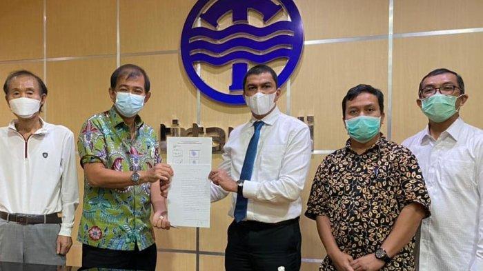 PDAM Tirtanadi Bersama Royal Sumatera Tandatangani Kerjasama Pembuatan Sumur Bor