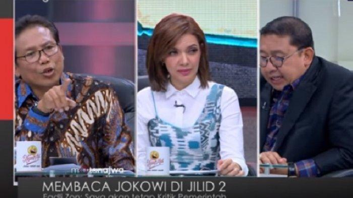 MATA NAJWA Singgung Prabowo saat Debat Fadli Zon - Jubir Presiden Jokowi Fadjroel Rachman, Video