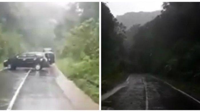 Viral Video Longsor di Jalur Karo Menuju Dairi, Kapolsek Sumbul: Itu Peristiwa Tahun Lalu