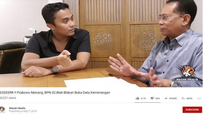 Video Penjelasan Prabowo Menang 62 Persen Terkuak dari Prof Laode, Alasan Demokrat Bilang Gak Logika