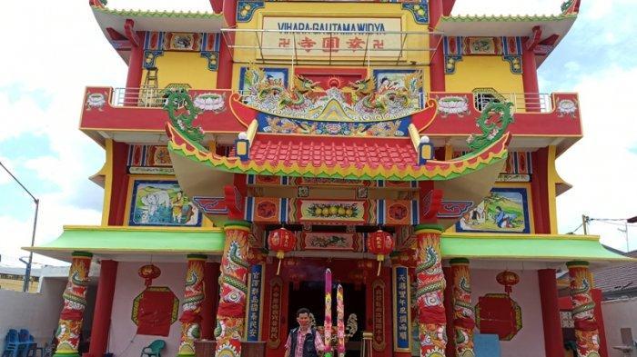 Perayaan Imlek di Vihara Gautama Widya Sepi, Tradisi Barongsai dan Wayang Kulit Ditiadakan Tahun Ini