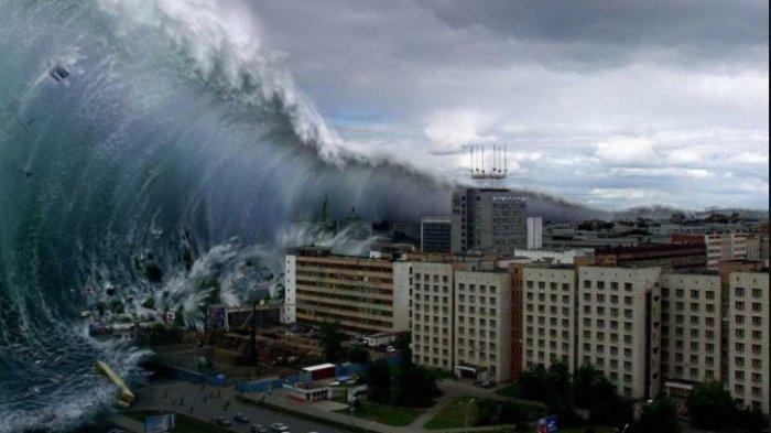 Ilustrasi Tsunami -
