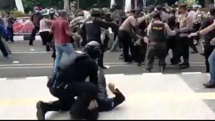 SETELAH Viral Video Oknum Polisi Banting Mahasiswa sampai Kejang-kejang, Propam Mabes Polri Turun