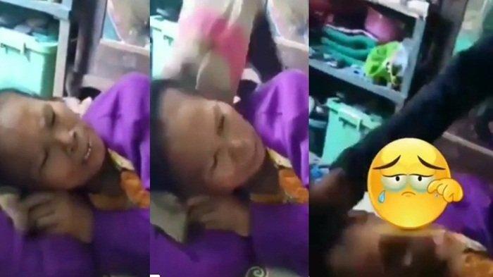 VIRAL Video Anak Injak Kepala Ibunya Gara-gara Kesal, Balasan Sang Ibu, Kata-katanya Gak Disangka