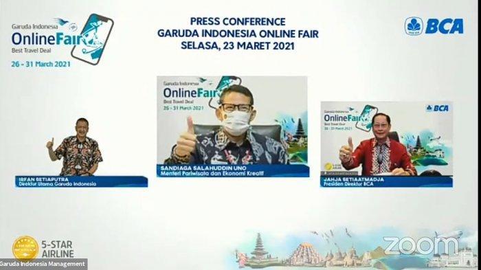 SIAP-SIAP, Tiket Pesawat Garuda Indonesia Diskon Hingga 85 Persen, GOTF 2021 Digelar Mulai 26 Maret