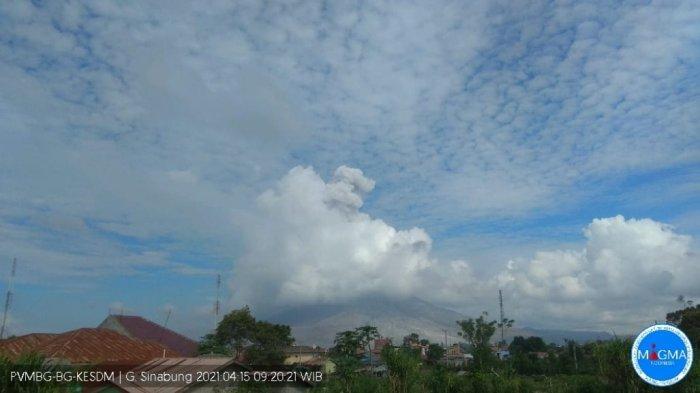 Gunung Sinabung Kembali Erupsi Jumat Pagi, Luncurkan Abu Vulkanik Setinggi 1000 Meter