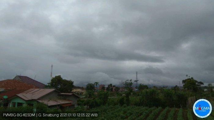 Aktivitas Gunung Sinabung Masih Terus Fluktuatif, Minggu Siang Kembali Erupsi