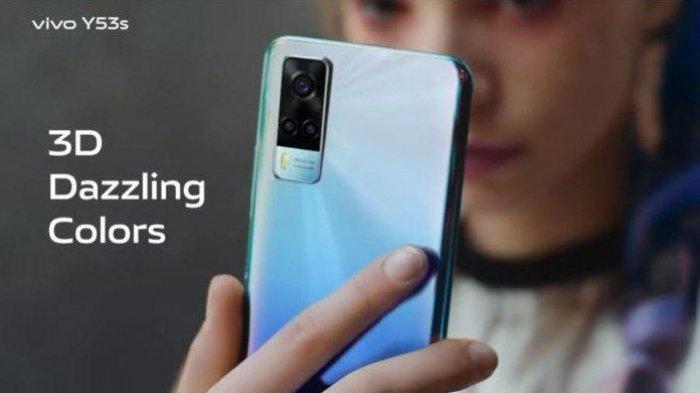 HP VIVO TERBARU: Vivo Y53s DiIengkapi Teknologi Night Camera,Trendy Slim Design, Berikut Spesifikasi