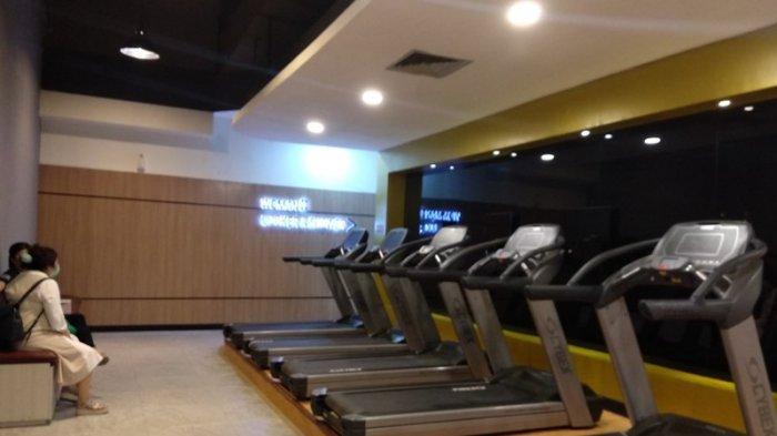 SUASANA Vizta Gym yang berada di lantai tiga Mal Centre Point Medan.