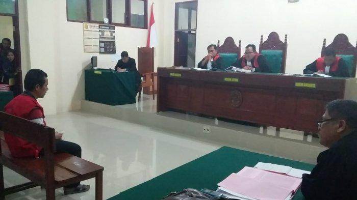 Pembunuh Sadis Siswi SMK di Tarutung Divonis 20 Tahun Penjara
