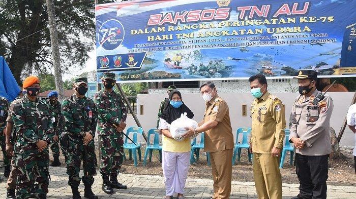 Wabup Deli Serdang Sebut TNI-AU Punya Kepedulian Tinggi terhadap Kesejahteraan Rakyat