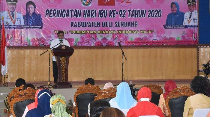 Peringati Hari Ibu, Bupati Deli Serdang Sebut Perjuangan Perempuan Indonesia Belum Usai