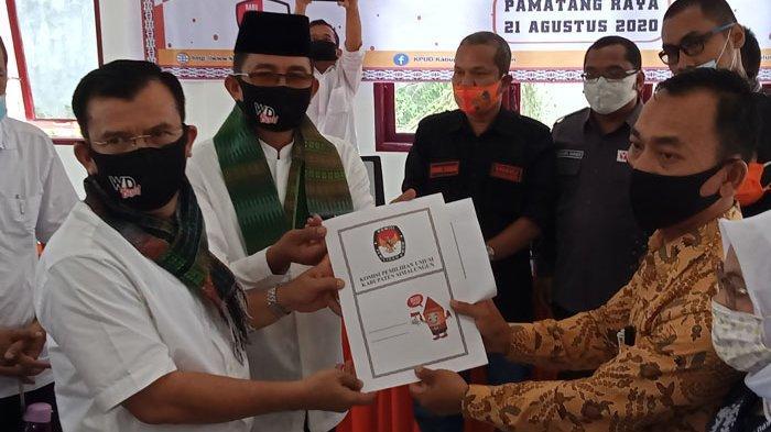 Purnawirawan Irjen Wagner Damanik dan Abidinsyah Dinyatakan Penuhi Syarat Pilkada Simalungun