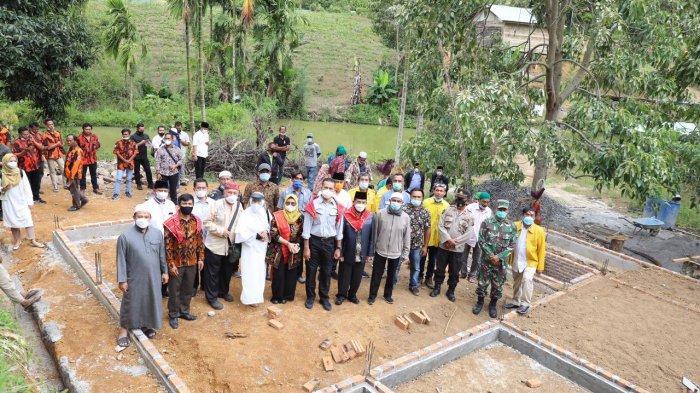 Desa Tanjung Merahe, Wujudkan Indahnya Toleransi, Umat Kristiani Berikan Lahan untuk Bangun Masjid