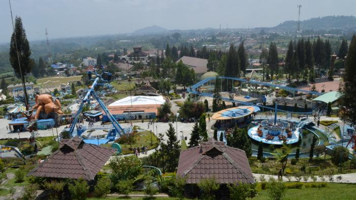 Mikie Holiday Funland, Lokasi Wisata yang Tawarkan Aneka Wahana Bermain Asyik di Perbukitan