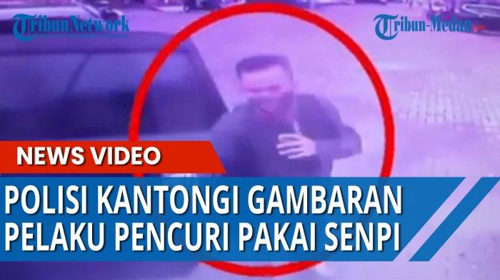 Polrestabes Bentuk Tim Buru Pencuri Bersenjata Api di Jalan Katamso Medan, Wajah Pelaku Terekam CCTV