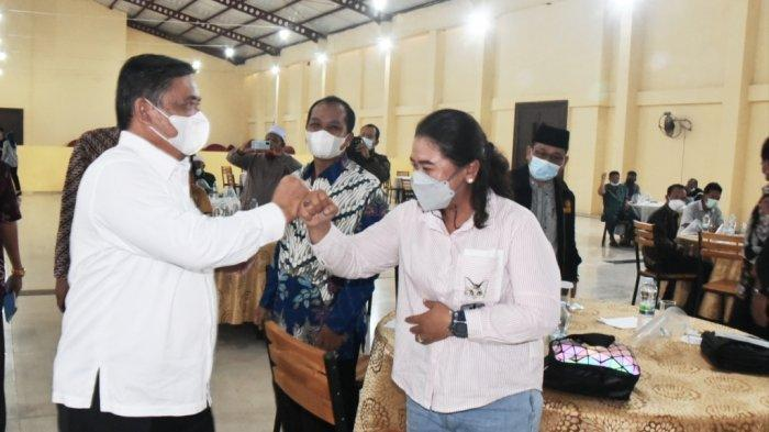 Bertemu Tokoh Agama, Masyarakat dan FKDM Deliserdang, Wakil Bupati Yusuf Siregar Bahas Covid-19