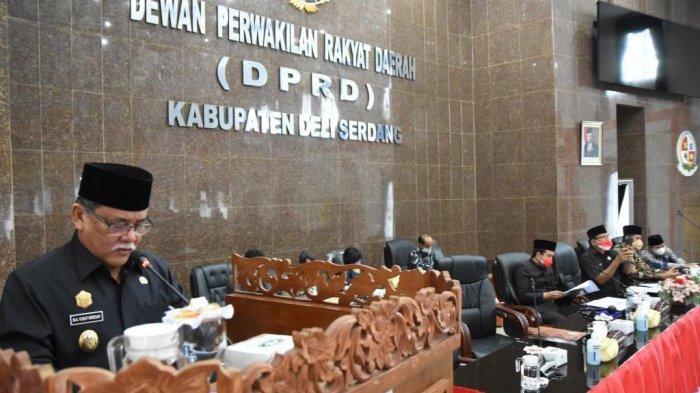 Begini Penjelasan Wakil Bupati Deliserdang Perihal Jawaban Padangan Umum Fraksi DPRD Deliserdang