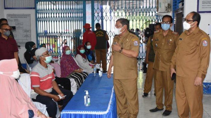 BIN Sumut Gelar Vaksinasi Covid-19 di Deliserdang, Yusuf Siregar Ucapkan Terima Kasih