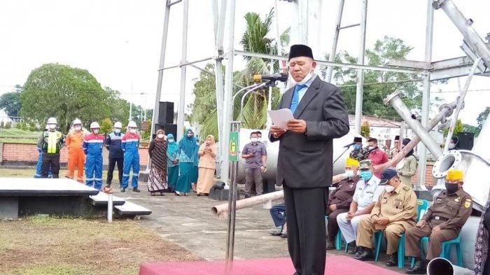 Wakil Bupati Langkat Resmikan Kampung Batik, Harapannya Bisa Seperti Pekalongan