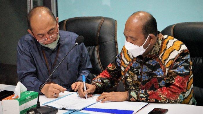 Wakil Bupati Langkat Mengikuti RUPS Luar Biasa PT Bank Sumut, Berikut 4 Agenda Rapatnya