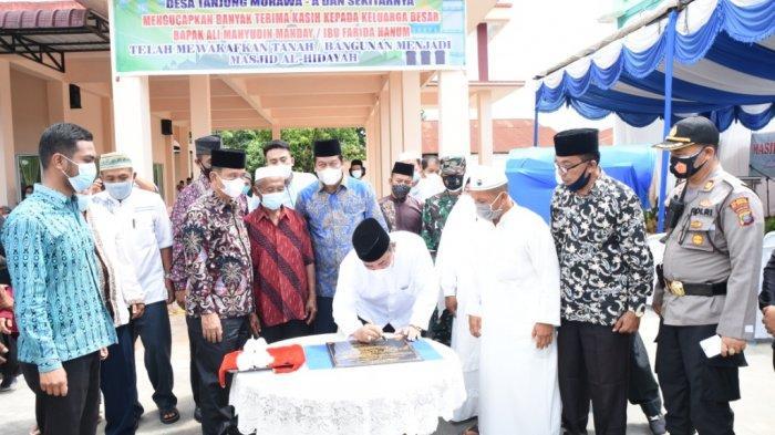 Resmikan Masjid Al Hidayah, Yusuf Siregar Sebut Masjid Membangun Budaya Umat Muslim