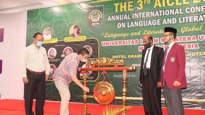 74 Peserta Ikuti Annual International Confrence on Language and Literature UISU
