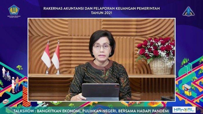 Aulia Rachman Mengikuti Rapat Bersama Sri Mulyani Bahas Pelaporan Pemerintahan 2021