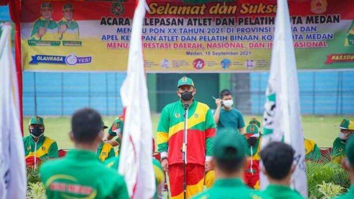 Wali Kota Bobby Nasution Berharap Atlet Medan Raih Target 9 Medali Emas PON Papua