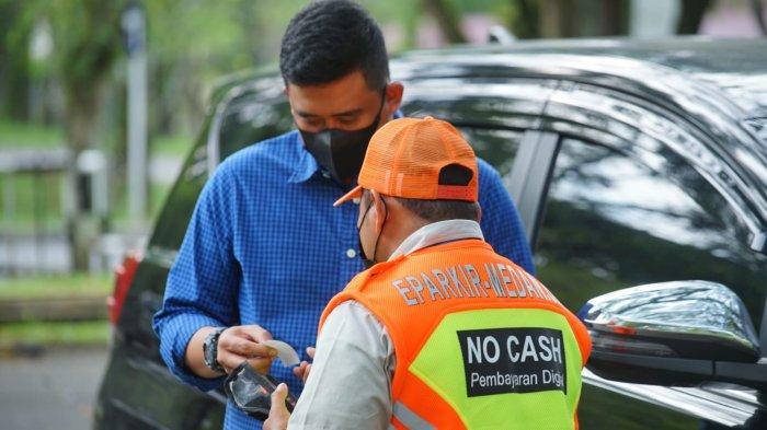 Dishub Medan Targetkan Uang Jutaan untuk PAD dari Penerapan E-Parking Per Hari