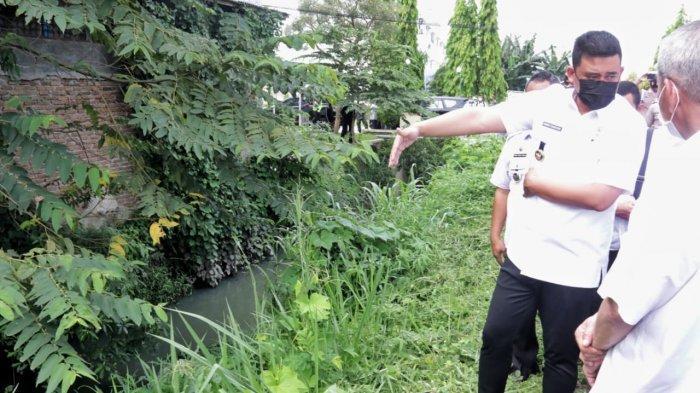 Atasi Banjir Medan, Wali Kota Bobby Tinjau Sungai Bedera