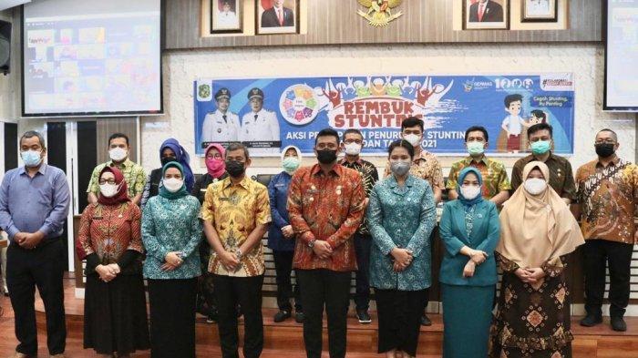 Wali Kota Medan, Bobby Nasution Membuka Kegiatan Rembuk Stunting di Balai Kota Medan. Ia berharap kegiatan itu bukan sekadar rutinitas saja.