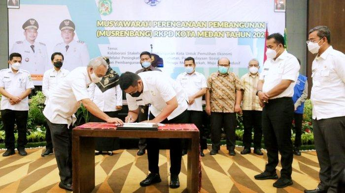 Dapatkan 3.334 Ulasan, Wali Kota Bobby Resmi Tutup Musrenbang RKPD Medan 2022