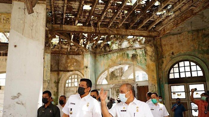 Kembalikan Nilai Heritage di Kesawan, Walkot Bobby Minta OPD Revitalisasi Gedung Warenhuis