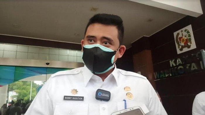 Wali Kota Medan Bobby Nasution saat ditemui di Balai Kota Medan, Rabu (4/8/2021).