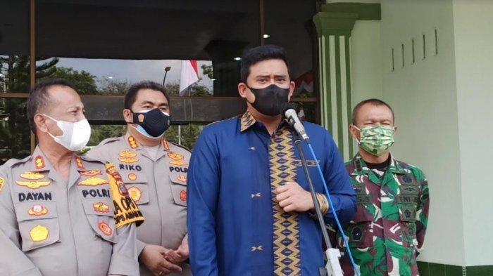 Tekan Penyebaran Covid-19, Bobby Nasution, Kapolres dan Dandim Melakukan Cara Berikut Ini