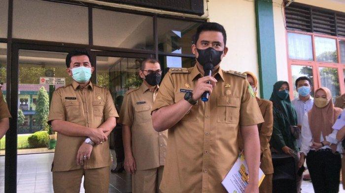 Wali Kota Bobby Nasution Kekeh Laksanakan Sekolah Tatap Muka saat Jumlah Kasus Covid-19 Meningkat