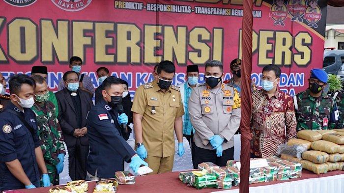 Komitmen Tegas Bobby Nasution Bersihkan Kota Medan dari Narkoba