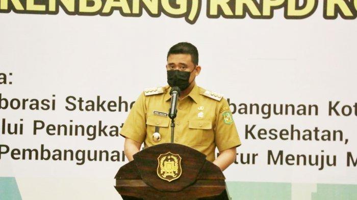 Buka Musrenbang RKPD 2022, Walkot Bobby Paparkan 5 Program Prioritas Pemkot Medan