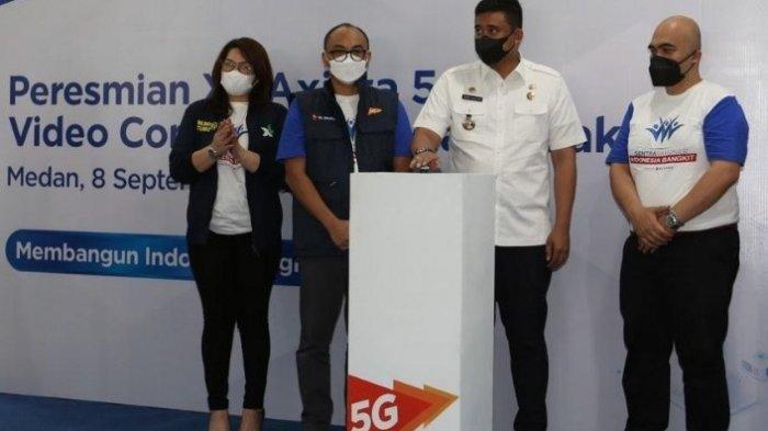XL Axiata Gelar Sentra Vaksinasi dan Pengenalan Jaringan 5G, Dihadiri Wali Kota Medan