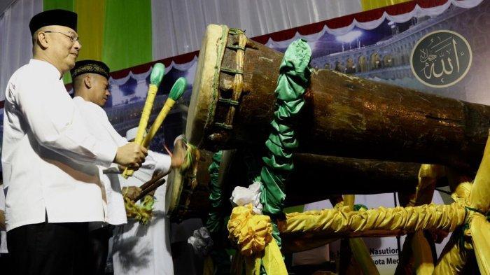 Jajaran Pemko Medan dan Unsur Forkopimda Takbiran Bersama Sambut Idul Adha 1440 H