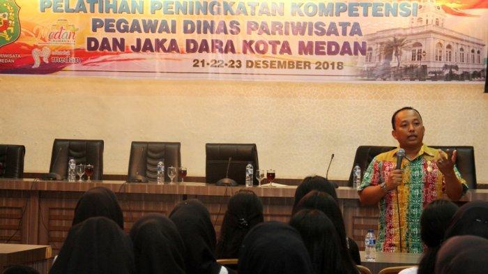 Pemko Medan Tingkatkan Kompetensi Pegawai Dinas Pariwisata Dan Jaka Dara Kota Medan Tribun Medan