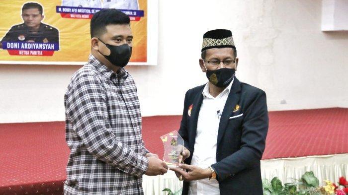 Hadiri Pelantikan DPC Pendawa Kota Medan, Bobby Nasution Ajak Warga Jawa Berkolaborasi Bangun Kota