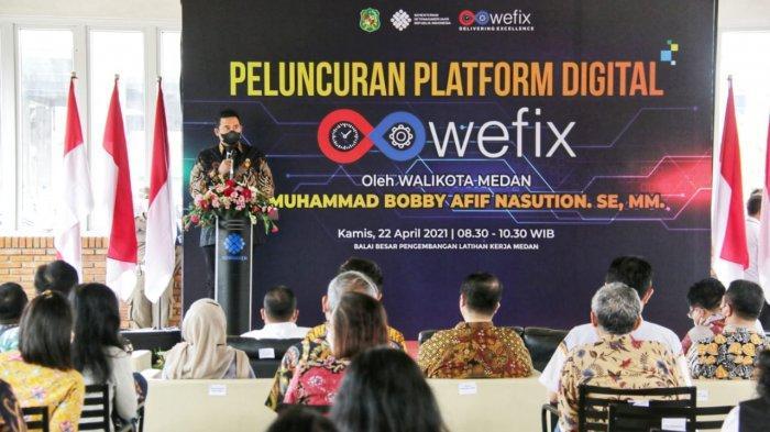 Wadah Tingkatkan Skill Pencari Kerja, Bobby Apresiasi Diluncurkannya Platform Digital Wefix