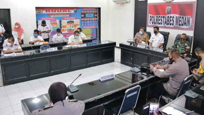 Persiapan Pengamanan Jelang Idul Fitri, Bobby Nasution Ikutin Rakor Lintas Sektoral