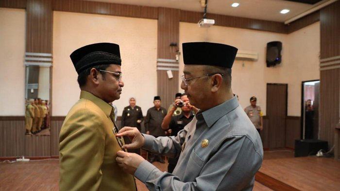 Wirya Al Rahman Dilantik jadi Sekda Kota Medan, Kalahkan Empat Calon Lainnya